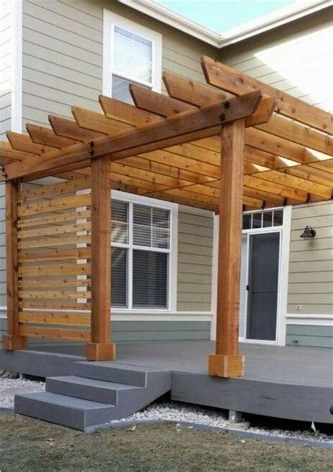Wall-Leaning-Pergola-Plans