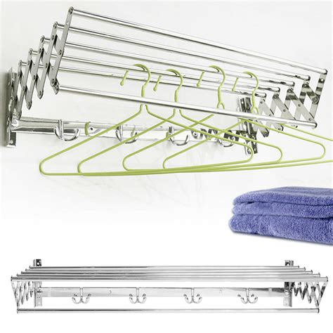 Wall-Mount-Extendable-Drying-Rack-Diy