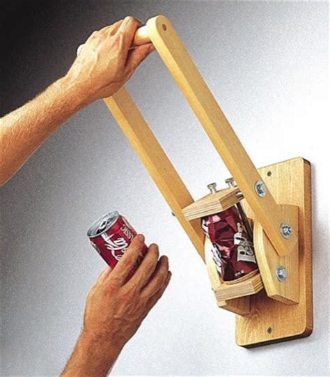 Wall-Mounted-Can-Crusher-Woodworking-Plan