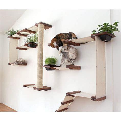 Wall-Mounted-Cat-Shelves-Diy