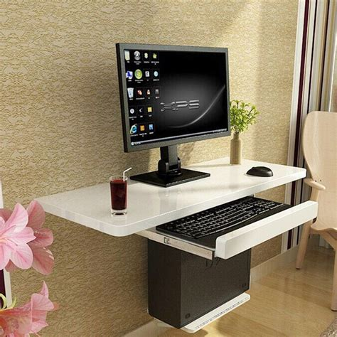 Wall-Mounted-Computer-Desk-Plans