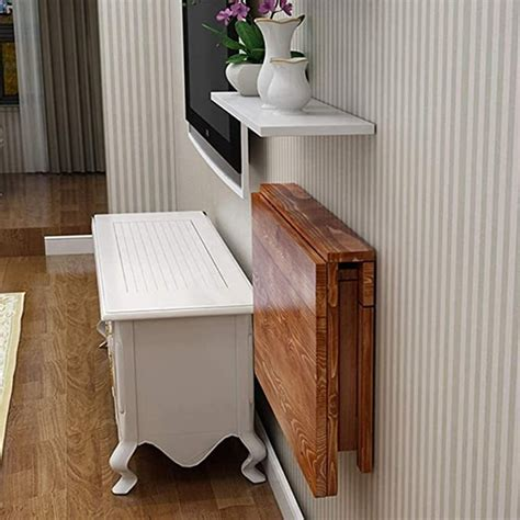 Wall-Mounted-Folding-Dining-Table-Plans