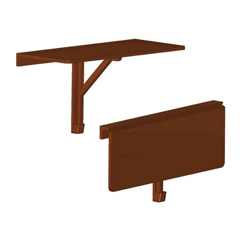Wall-Mounted-Folding-Table-Plans