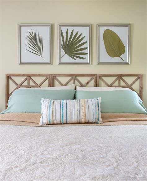 Wall-Mounted-Headboard-Stained-Panels-Diy