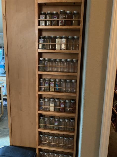 Wall-Mounted-Spice-Cabinet-Plans