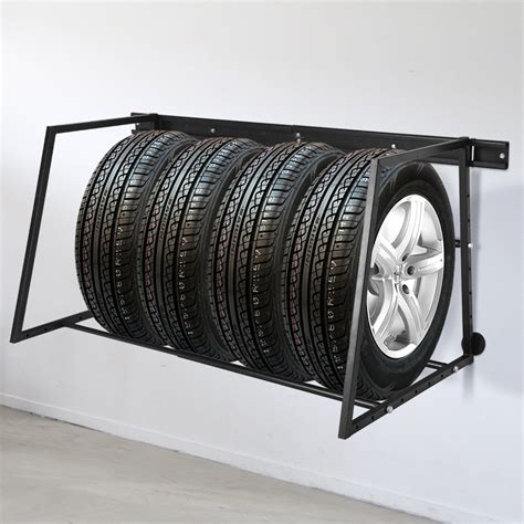 Wall-Mounted-Tire-Rack-Plans