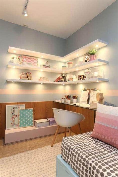 Wall-Shelves-For-Girls-Room