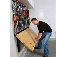 Best Wall mounted fold away workbench