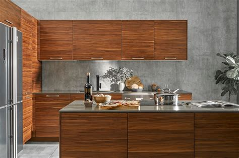 Walnut Wood Cabinets Images