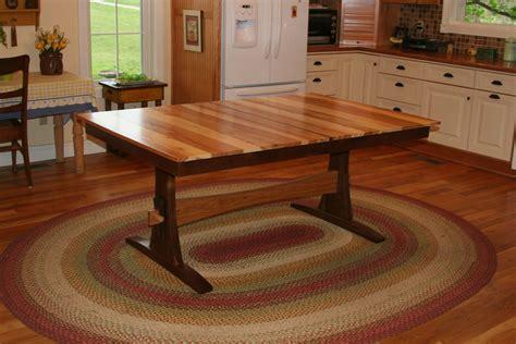 Walnut-And-Hickory-Farmhouse-Table