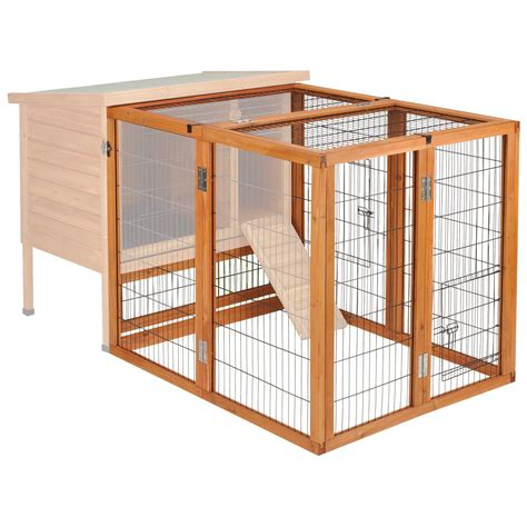 Ware rabbit hutch runs near Image