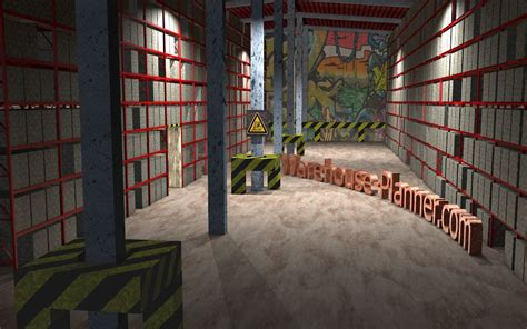Warehouse Racking Planning Software