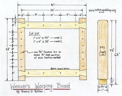 Warping-Board-Plans