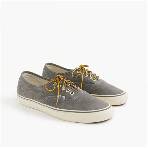 Washed Canvas Authentic Sneakers Vans