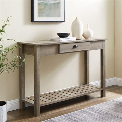 Washed Wood Console Table Plans
