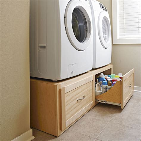 Washer And Dryer Stands Plans
