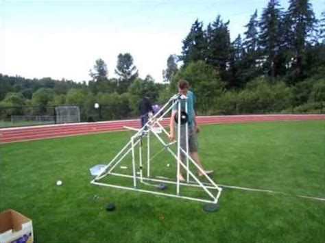 Water Balloon Trebuchet plans Without Kitsap