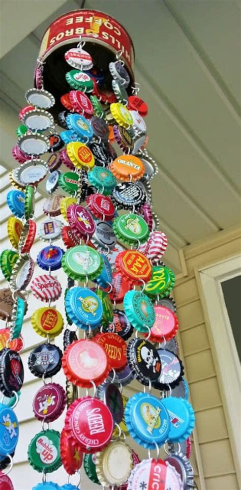 Water Bottle Cap Diy Projects