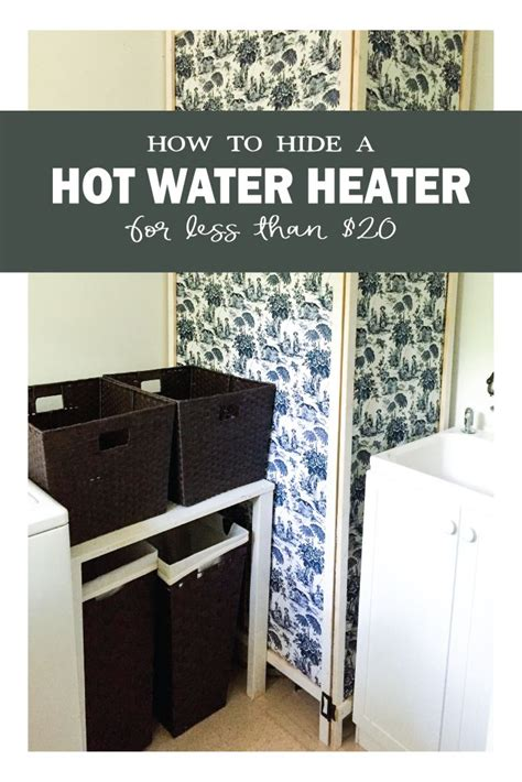 Water Heater Cover Diy Moveable