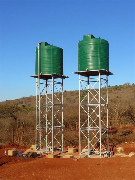 Water-Tank-Stand-Plans