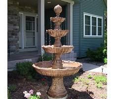 Best Water fountain garden.aspx