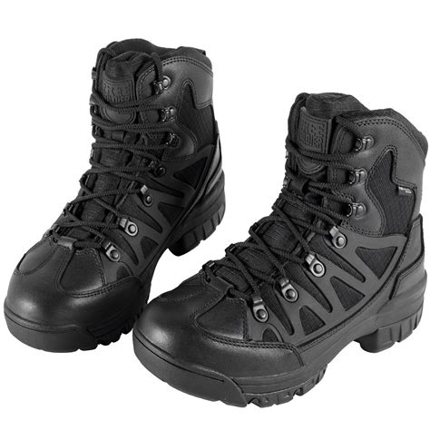 Waterproof Mid Hiking Boots 6 Inch Outdoor Breathable Suedu Leather Tactical and Military Shoe