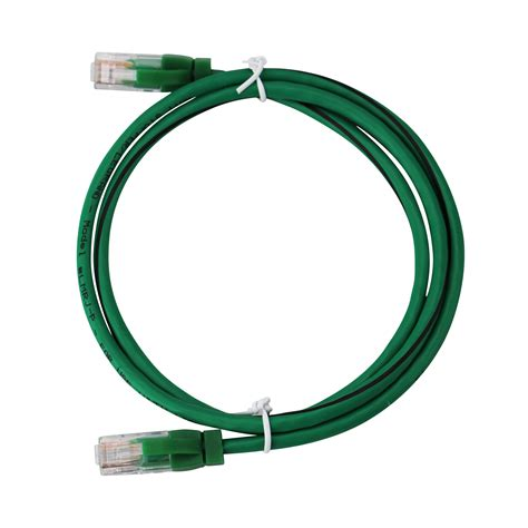 Watt Stopper LMRJ-P03 RJ-45 Cable LMRK Series Pre-Terminated Cable and Segment Network Wire Cable, 3-Feet Green