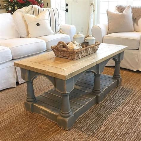 Weathered Coffee Table Diy Ideas