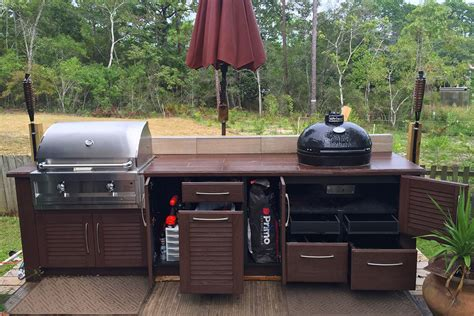 Weatherproof Outdoor Kitchen Cabinets