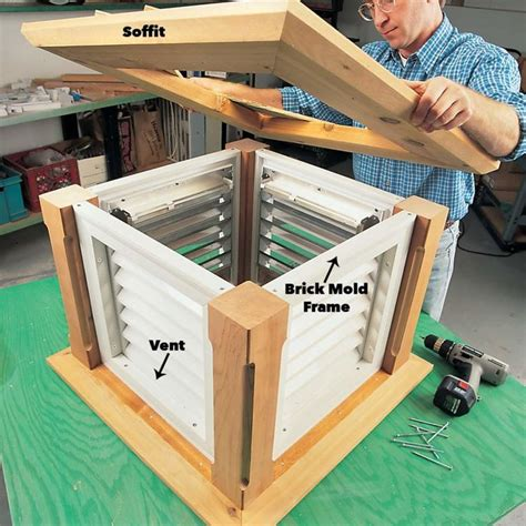 Weathervane Cupola Plans DIY Patio