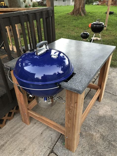 Weber Grill Table Diy Plans