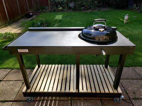 Weber Kettle Grill Stand DIY