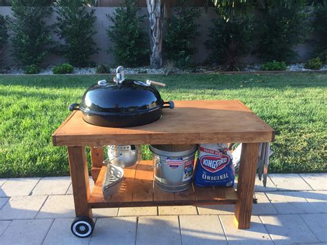 Weber Kettle Grill Table Plans