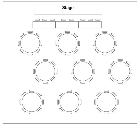 Wedding Table Diagram