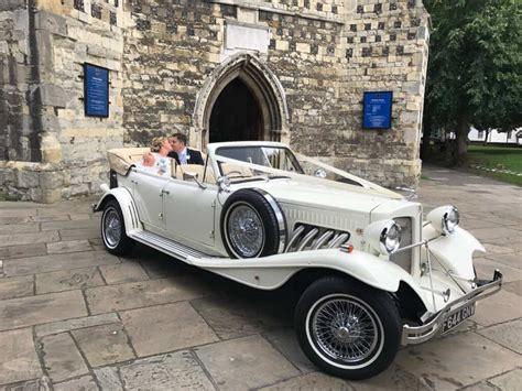 Wedding car let Hertfordshire: Best of the bests