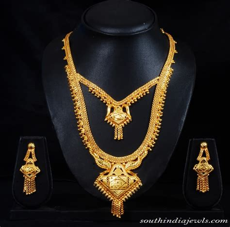Wedding jewelry sets of gold