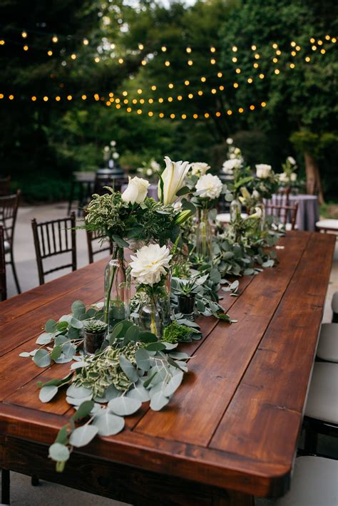 Wedding-Decor-On-Farm-Tables