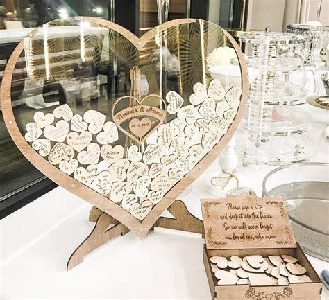 Wedding-Guest-Book-Heart-Drop-Box-Frame-Diy