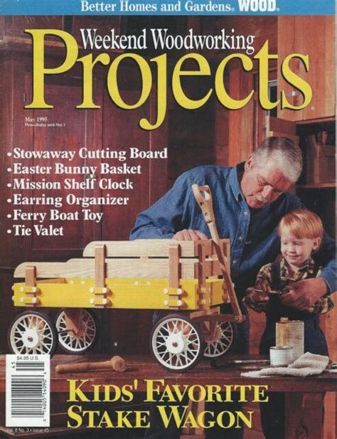 Weekend Woodworking Projects Patrick May 1995