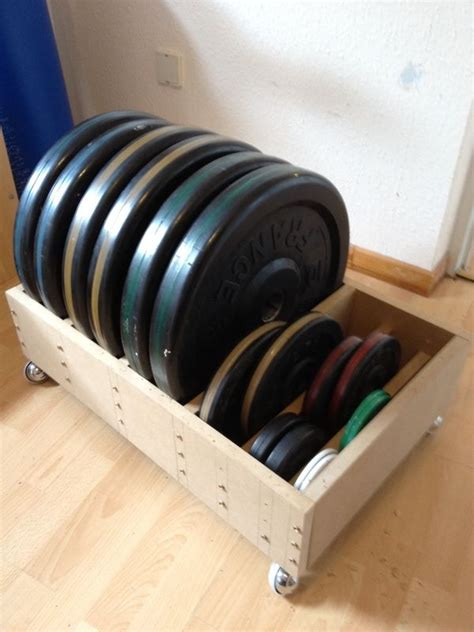 Weight Plate Storage Diy Ideas