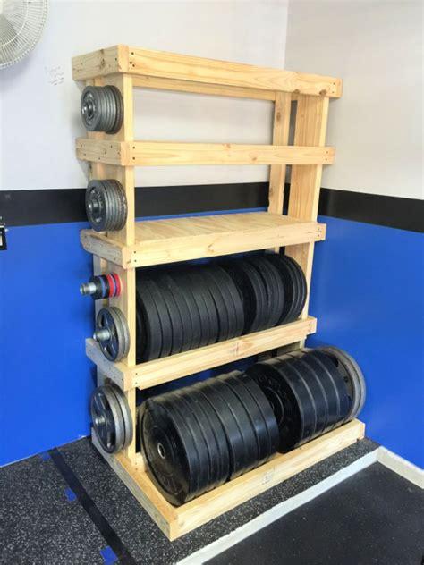 Weight-Storage-Rack-Diy