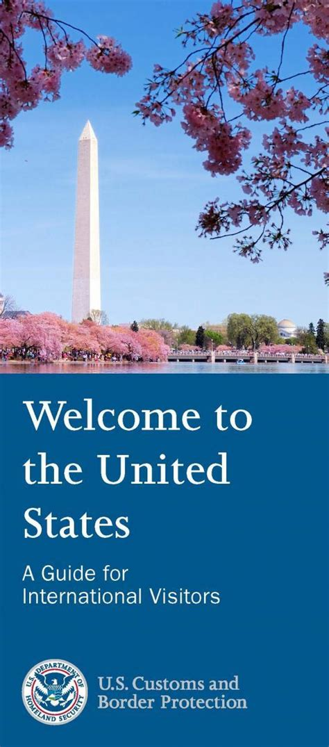 [pdf] Welcome To The United States - U S Customs And Border .