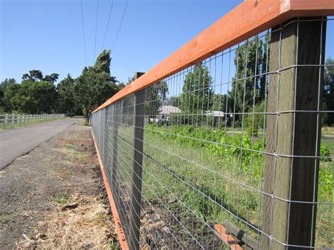 Welded Wire Fence Diy