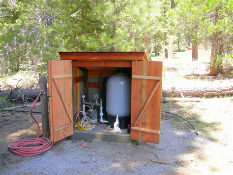 Well Shed Plans