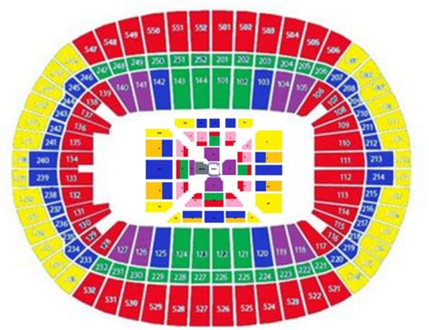Wembley Stadium Seating Plan For Boxing
