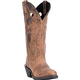 Western Boots Mens Hank U Buckaroo Distressed Tan 62053
