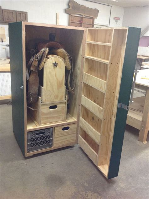 Western Tack Locker Plans