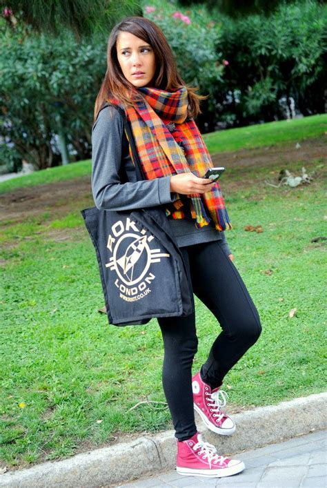 What To Wear With Red Converse Sneakers