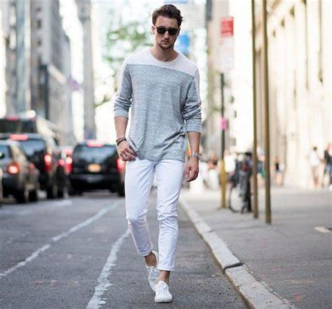 What To Wear With White Converse Sneakers Mens