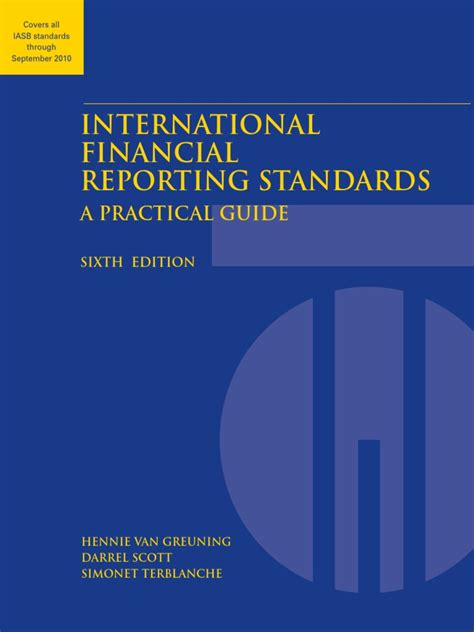 What Is International Financial Reporting Standards Pdf And Tony Romano Financial Planner